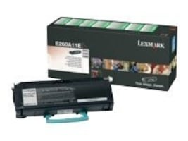 Lexmark Black Return Program Toner Cartridge for E260, E360 & E460 Series Printers, E260A11A, 9163711, Toner and Imaging Components