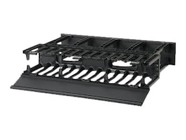 Panduit NetManager High Capacity Horizontal Cable Manager, NM2, 13480162, Rack Cable Management