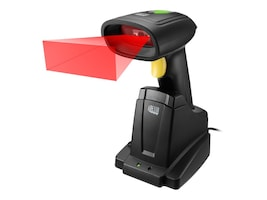 Adesso NuScan 2D Barcode Scanner, 2.4GHz RF Wireless, Charger Cradle, USB Cable, NUSCAN 7400TR, 35021346, Bar Code Scanners