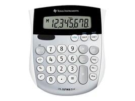 TI TI-1795 SV Minidesk Solar Calculator, TI-1795SV, 7001111, Calculators