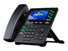 D65 6-Line SIP Phone w HD Voice, GbE, W.Headset, 4.3 Color Display, 1TELD065LF, 33948050, VoIP Phones
