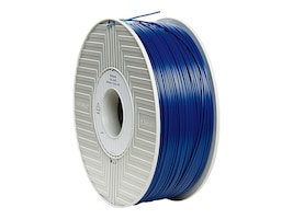Verbatim Blue 1.75mm ABS 3D Filament 1KG Reel, 55002, 30783413, Printer Supplies - 3D