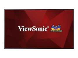 ViewSonic 54.6 CDE5510 4K Ultra HD LED-LCD Display, Black, CDE5510, 34966399, Monitors - Large Format
