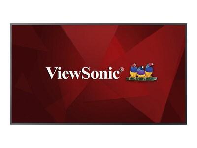 ViewSonic 54.6 CDE5510 4K Ultra HD LED-LCD Display, Black, CDE5510, 34966399, Monitors - Large Format