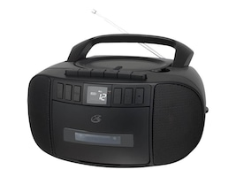 GPX CD CASSETTE AM FM BOOMBOX      PERPRECORDS FROM RADIO & CD, BCA209B, 36762066, Carrying Cases - Other