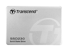 Transcend 128GB SSD230S SATA 6Gb s TLC 2.5 3D Solid State Drive - Aluminum Case, TS128GSSD230S, 32920282, Solid State Drives - Internal