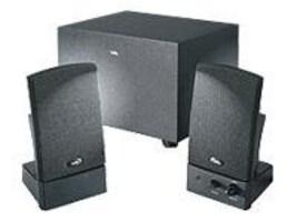 Cyber Acoustics OEM Black 3-piece 2.1 Subwoofer System, CA-3001WB, 6164081, Speakers - Audio