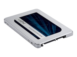 Crucial 500GB MX500 SATA 6Gb s 2.5 7mm Internal Solid State Drive w  9.5mm Adapter, CT500MX500SSD1, 35000326, Solid State Drives - Internal