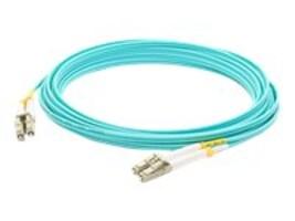 ACP-EP OM4 Fiber Patch Cable, LC-LC, 50 125, Duplex, Multimode, Aqua, 7m, ADD-LC-LC-7M5OM4, 14702847, Cables