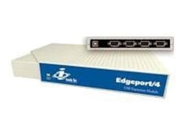 Digi Edgeport 4 USB-to-Serial Converter with 4 Serial DB-9 Ports, 301-1000-04, 56782, Adapters & Port Converters