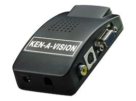 Ken-A-Vision VGA Converter, V-VGACON, 15537151, Adapters & Port Converters