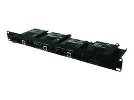 Transition Media Converter Shelf Four Slot Shelf, RMS19-SA4-01, 7018238, Network Transceivers