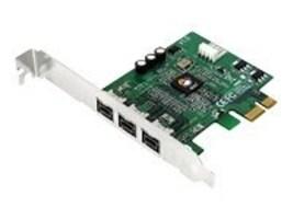Siig FireWire 800 PCI Express Card, NN-FW0012-S1, 8907088, USB & Firewire Hubs