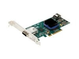 Atto EXPRESS SASX8 4CH INT 4CH EXT  CTLRSAS PCIE8 2.0 TO 6GB SATA LP ROHS, ESAS-H644-000, 9503333, Controller Cards & I/O Boards