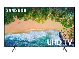 Samsung 49.5 NU7100 4K UHD LED-LCD Smart TV, Black, UN50NU7100FXZA, 35593563, Televisions - Consumer
