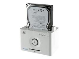 Vantec 2.5 3.5 SATA to USB 2.0 & eSATA Hard Drive Dock - White, NST-D100SU, 17433540, Hard Drive Enclosures - Single