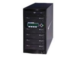 Kanguru™ 1 to 5 24x KanguruDVD Burn Proof Duplicator w  LCD, U2-DVDDUPE-S5, 9385998, Disc Duplicators