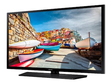 Samsung 50 HE470 Full HD LED-LCD Hospitality TV, Black, HG50NE470SFXZA, 32252691, Televisions - Commercial