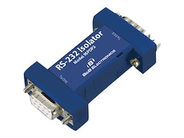 B&B Electronics 9-Pin RS-232 to RS-232 Port-Powered Optical Isolator, 9SPOP2, 13330711, Cables