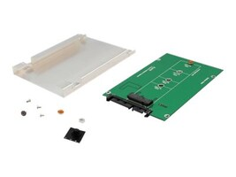 Syba M.2 (NGFF) SSD to SATA III 2.5 Enclosure Adapter, SY-ADA40087, 34152109, Drive Mounting Hardware