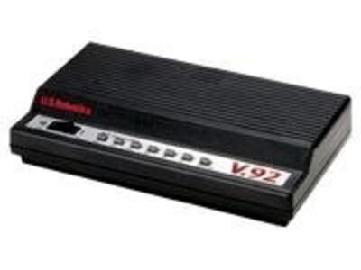 US Robotics 56K V.92 External Fax Modem, USR5686G, 11661357, Modems