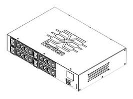 Raritan PDU 5.0kVA 208V 24A 1-ph 2U L6-30P Input (16) C13 (4) C19 Blue, PX3-5464R-G1K2, 32431964, Power Distribution Units
