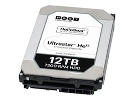 HGST 12TB UltraStar He12 SATA 6Gb s 4Kn ISE 3.5 Helium Platform Enterprise Hard Drive, 0F30141, 33942037, Hard Drives - Internal
