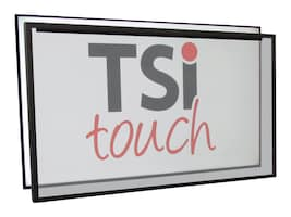 TSltouch 75 IR Touchscreen Overlay for DM75E, TSI-D75-06IDOARB, 32192570, Monitor & Display Accessories - Large Format