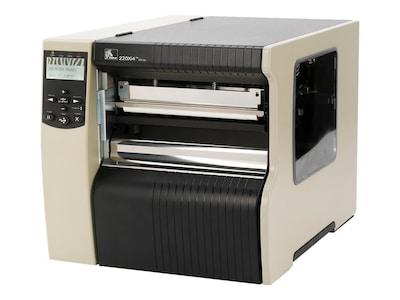 Zebra 220XI4 300dpi RS-232 Serial Parallel USB Ethernet ZPL XML Printer w  Power Supply & 16MB Cache, 223-801-00000, 10915159, Printers - Bar Code