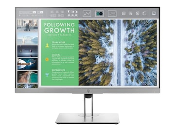 HP EliteDisplay E243 23.8 Full HD LED-LCD Monitor, Silver, 1FH47A8#ABA, 34388613, Monitors