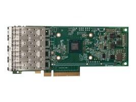 Qlogic QUAD PORT 10GBE SFP+ PCIE ADAPTER(L2+ROCE+IWARP), CHANNEL KIT, QL41134HLCU-CK, 38114505, Network Adapters & NICs