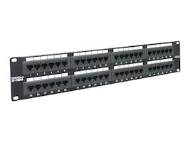 TRENDnet 48-Port Cat6 RJ45 UTP 19in Rack Mount Patch Panel, TC-P48C6, 5244670, Patch Panels