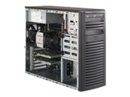 Supermicro Barebones, SuperWorkstation 5038A-I MT E5-2600v3 Family Max.512GB DDR4 4x3.5 Bays 6xPCIe 2xGbE 900W, SYS-5038A-I, 20022805, Barebones Systems