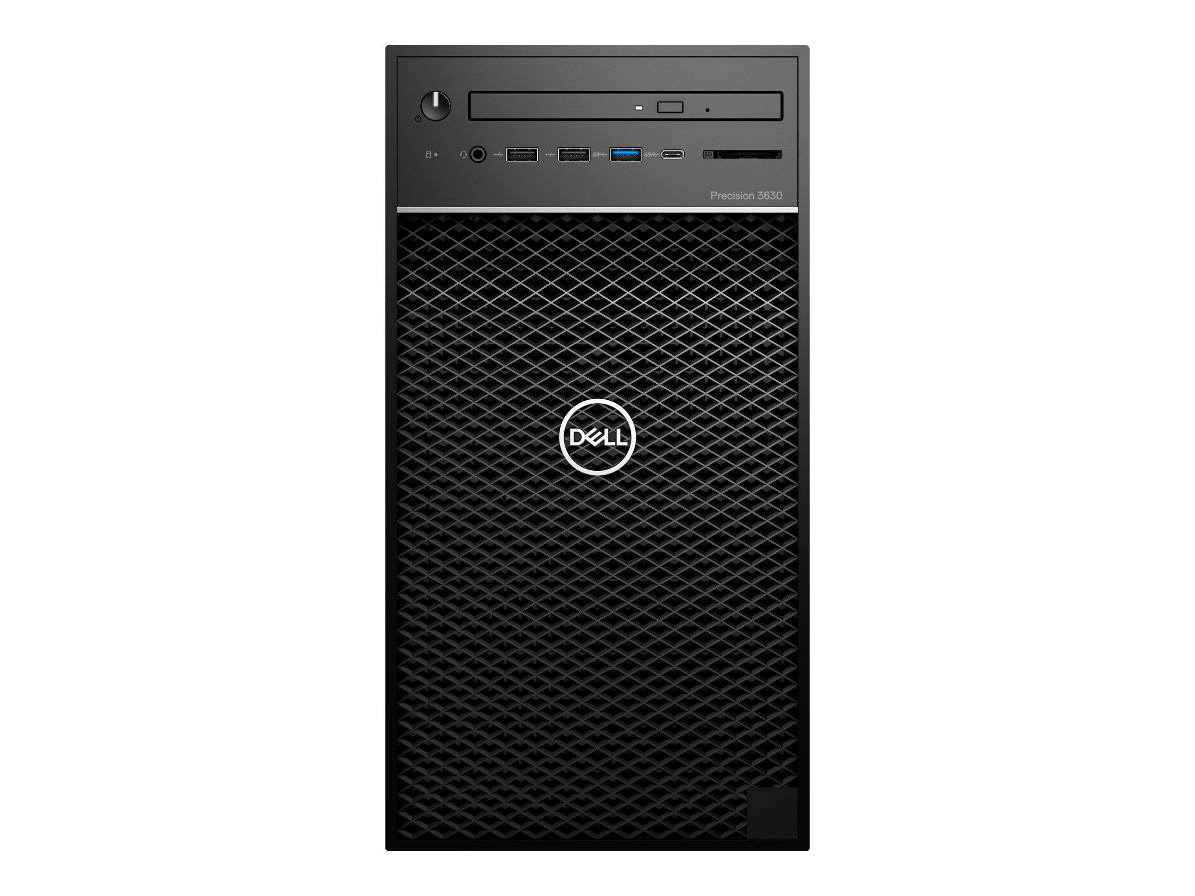 Dell Precision 3630 3 7GHz Core i7 Windows 10 Pro 64-bit Edition
