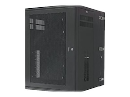 Panduit PANZONE WALL MNT CAB WITH PERF MNT EA, PZWMC1830P, 37218661, Racks & Cabinets
