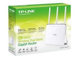 TP-LINK AC1900 Wireless Dual Band Gigabit Router, ARCHER C9, 18111340, Wireless Routers