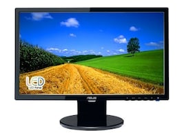 Asus 20 VE208T LED-LCD Widescreen Monitor with Speakers, Black, VE208T, 12073709, Monitors