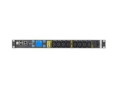 Eaton Monitored ePDU 16A 1U C20 L6-20P Input (8) C13 Outlets, EMAT10-10, 32114782, Power Distribution Units