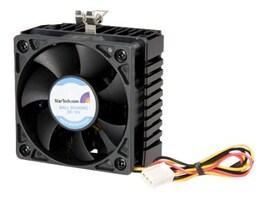 StarTech.com Cooling Fan and Heatsink, 6cm, Pentium III AMD Socket 7 370 TX3 Connection, FAN370PRO, 206242, Cooling Systems/Fans