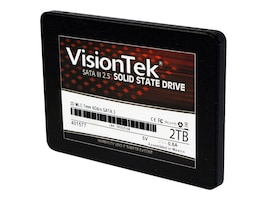 VisionTek 2TB SATA MLC 2.5 MLC 7mm 3D Solid State Drive, 900982, 34046672, Solid State Drives - Internal