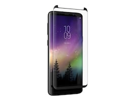 Zagg InvisibleShield Glass Curve Elite Screen Protector for Samsung Galaxy S9+, INVISIBLESHIELD GLASS CURVE, 35324603, Protective & Dust Covers