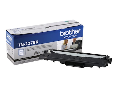 Brother Black High Yield Toner Cartridge for HL-L3210CW, HL-L3230CDW, HL-L3270CDW, HL-L3290CDW, MFC-L3710CW, TN227BK, 35995853, Toner and Imaging Components - OEM