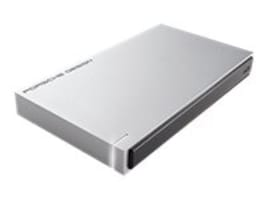 Lacie 1TB Porsche Design USB 3.0 2.5 Mobile Hard Drive, STET1000400, 33612695, Hard Drives - External