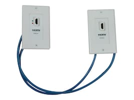 Tripp Lite HDMI Over Cat5 Cat6 Wallplate Extender Kit, P167-000, 8803490, Premise Wiring Equipment