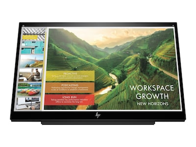 HP 14 EliteDisplay S14 Full HD LED-LCD Portable Display, 3HX46A8#AC3, 35934508, Monitors