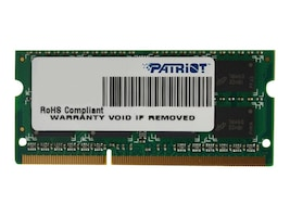 Patriot Memory 4GB 1333MHz DDR3, PSD34G13332S, 41047522, Memory