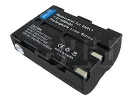BTI Battery, Lithium-Ion, 7.4V, 1400mAh, for Nikon D100, D100SLR, NI-EL3, 7926498, Batteries - Camera