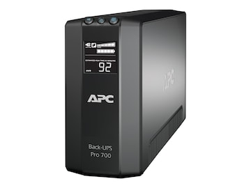 APC Power-Saving Back-UPS Pro 700VA 420W 120V 5-15P Input, (6) 5-15R Outlets, BR700G, 10536301, Battery Backup/UPS