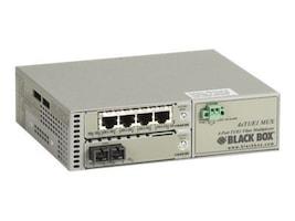 Black Box 4-Port T1 E1 to MMF Extender, 5 km Dual SC, MT1405A-MM-SC, 34811709, Multiplexers