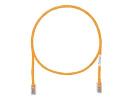 Panduit CAT5E UTP Copper Patch Cable with Pan-Plug Modular Plugs, Orange, 60ft, UTPCH60ORY, 35431311, Cables